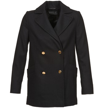 material Women coats Esprit WATTS Black