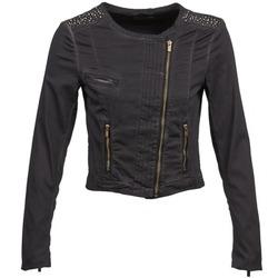 material Women Jackets / Blazers Esprit PARKEL Black