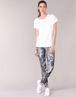 material Women leggings Nike PWR LGND TGHT PRNT Grey / Black