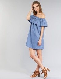 material Women Short Dresses Betty London GARDOT Blue