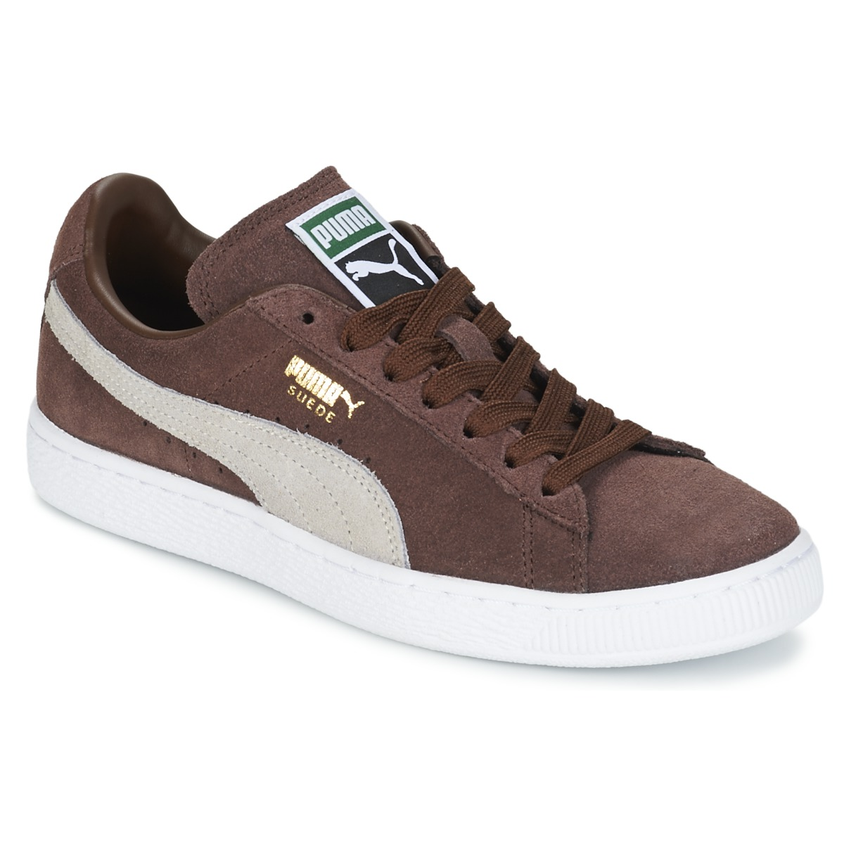 puma suedebrownsesame brown free delivery with spartoo