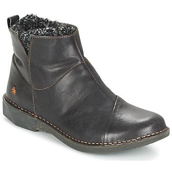 Shoes Women Mid boots Art BERGEN Black