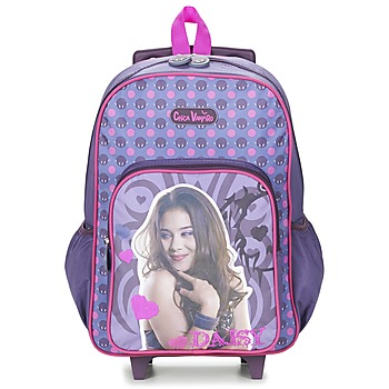 Bags Girl Rucksacks / Trolley bags Dessins Animés CHICA VAMPIRO SAC A DOS TROLLEY Violet