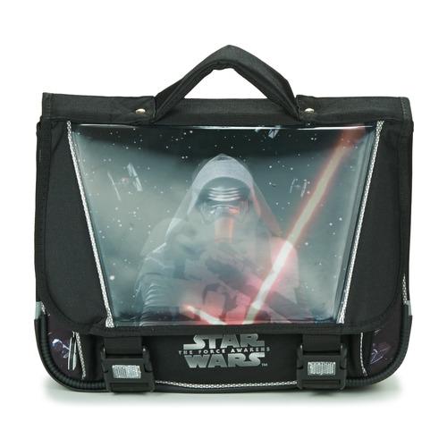 Bags Boy Satchels Disney STAR WARS CARTABLE 38CM Black