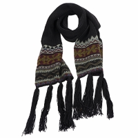 Clothes accessories Women Scarves Essentiel ZILE Black / Kaki