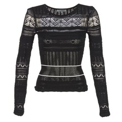material Women jumpers Morgan MARAI Black