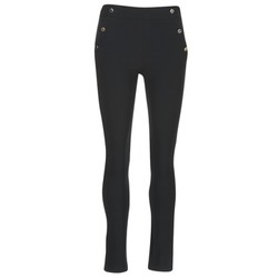 material Women 5-pocket trousers Morgan PSHAPA Black