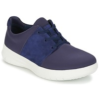 Shoes Women Low top trainers FitFlop SPORTYPOP X SNEAKER Marine