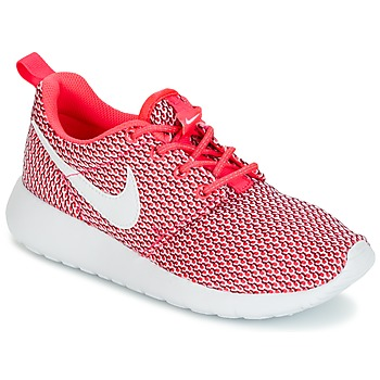 Shoes Girl Low top trainers Nike ROSHE ONE GRADE SCHOOL Pink / White
