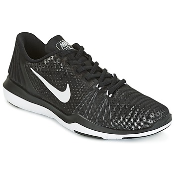 Shoes Women Fitness / Training Nike FLEX SUPREME TRAINER 5 W Black / White