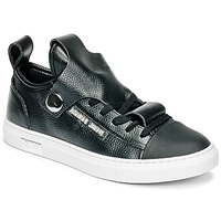 Shoes Women Low top trainers Armani jeans RATONE Black