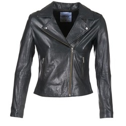 material Women Leather jackets / Imitation le Betty London IGADITE Black