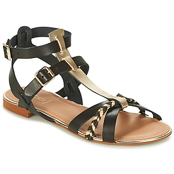 Shoes Women Sandals Bocage JARET Black / Gold