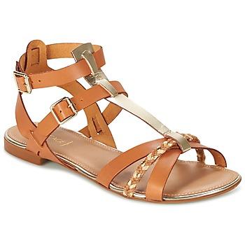 Shoes Women Sandals Bocage JARET Cognac