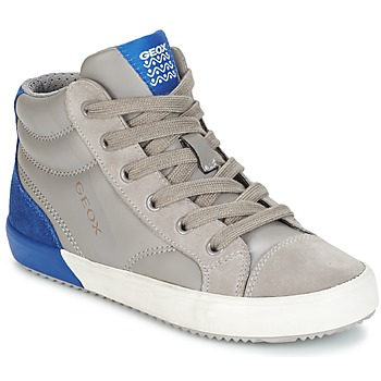 Shoes Boy High top trainers Geox J ALONISSO B. A Grey / Blue