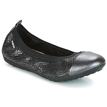 Shoes Girl Ballerinas Geox J PIUMA BAL B Black
