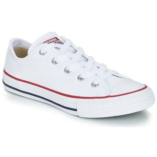 fb1192ec5f18 Shoes Children Low top trainers Converse CHUCK TAYLOR ALL STAR CORE OX White    Optical