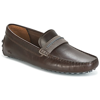 Shoes Men Loafers Lacoste HERRON Brown