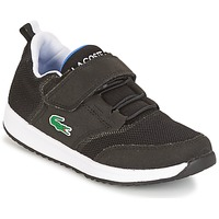 Shoes Children Low top trainers Lacoste L.IGHT Black / Grey