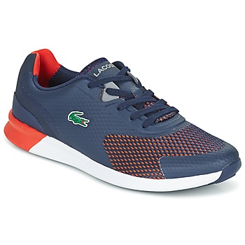 Shoes Men Low top trainers Lacoste LTR.01 Marine / Red