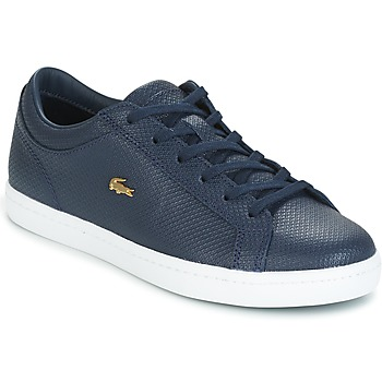 Shoes Women Low top trainers Lacoste STRAIGHTSET Marine