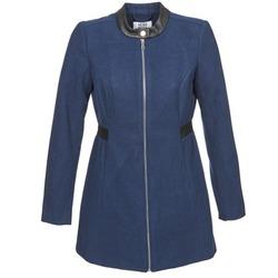 material Women coats Vero Moda CAPELLA Marine