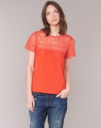 material Women Blouses Moony Mood GERDUS Orange