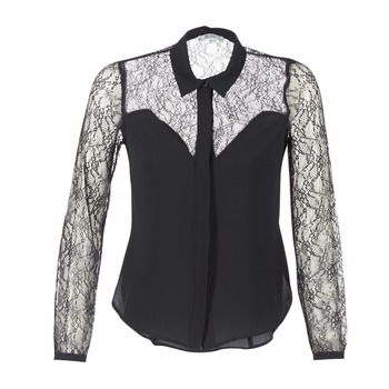 material Women Shirts Morgan RESTY Black