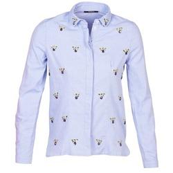 material Women Shirts Kookaï MAYA Blue