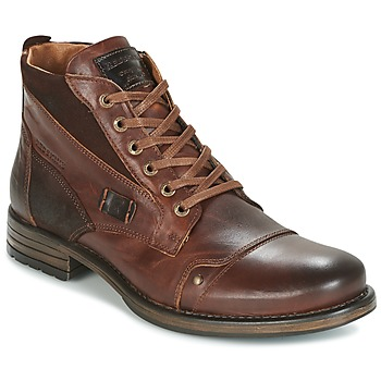 Shoes Men Mid boots Redskins YVORI Brown
