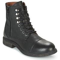 Shoes Men Mid boots Selected TREVOR Black
