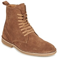 Shoes Men Mid boots Selected ROYCE HIGH COGNAC