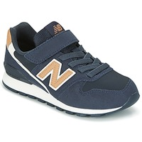 Shoes Children Low top trainers New Balance KV996 MARINE / White