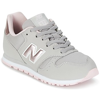 Shoes Girl Low top trainers New Balance KJ374 Grey / Pink