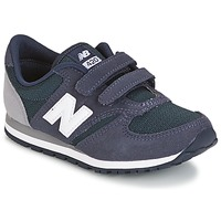 Shoes Children Low top trainers New Balance KE421 MARINE / Grey