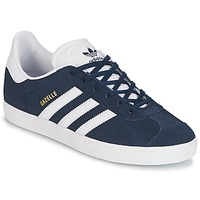 Shoes Boy Low top trainers adidas Originals GAZELLE J Marine