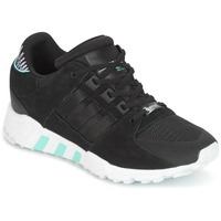 Shoes Women Low top trainers adidas Originals EQT SUPPORT RF W Black
