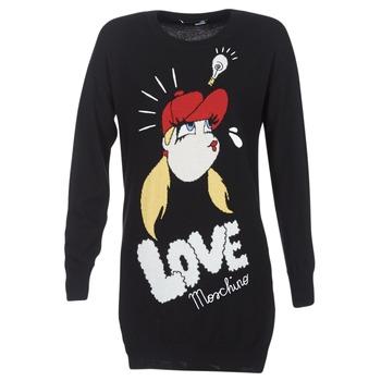 material Women Short Dresses Love Moschino WS45S01X0608 Black
