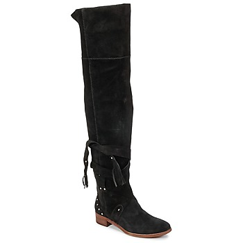 Shoes Women High boots See by Chloé FLIROL Black