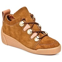 Shoes Women Low top trainers See by Chloé FLAVI Brown