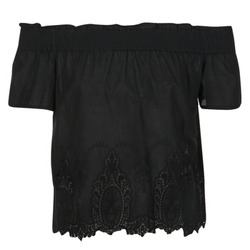 material Women Blouses Betty London GABALI Black