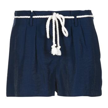 material Women Shorts / Bermudas Casual Attitude IGRETTE Marine