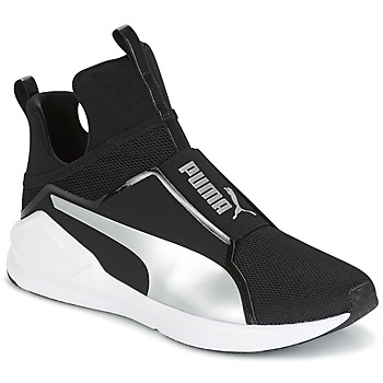 Shoes Women High top trainers Puma FIERCE core Black