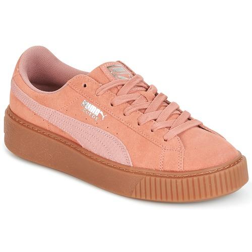 Core Plate-forme De Daim Puma Gomme Bas-tops & Chaussures uJToeYF