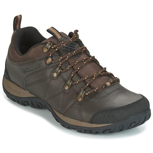 Shoes Men Multisport shoes Columbia PEAKFREAK VENTURE WATERPROOF Brown