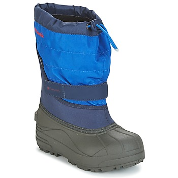 Shoes Children Snow boots Columbia YOUTH POWDERBUG™ PLUS II Marine