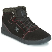 Shoes Children High top trainers DC Shoes CRISIS HIGH WNT Black / Red / White