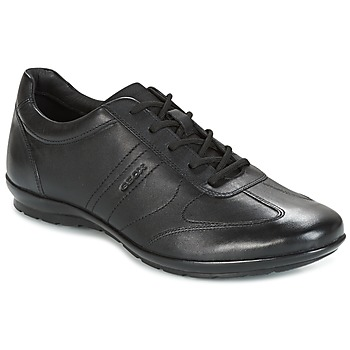 Shoes Men Low top trainers Geox UOMO SYMBOL Black
