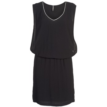 material Women Short Dresses Naf Naf LYLOMA Black