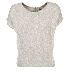 material Women short-sleeved t-shirts Naf Naf MILLON Grey